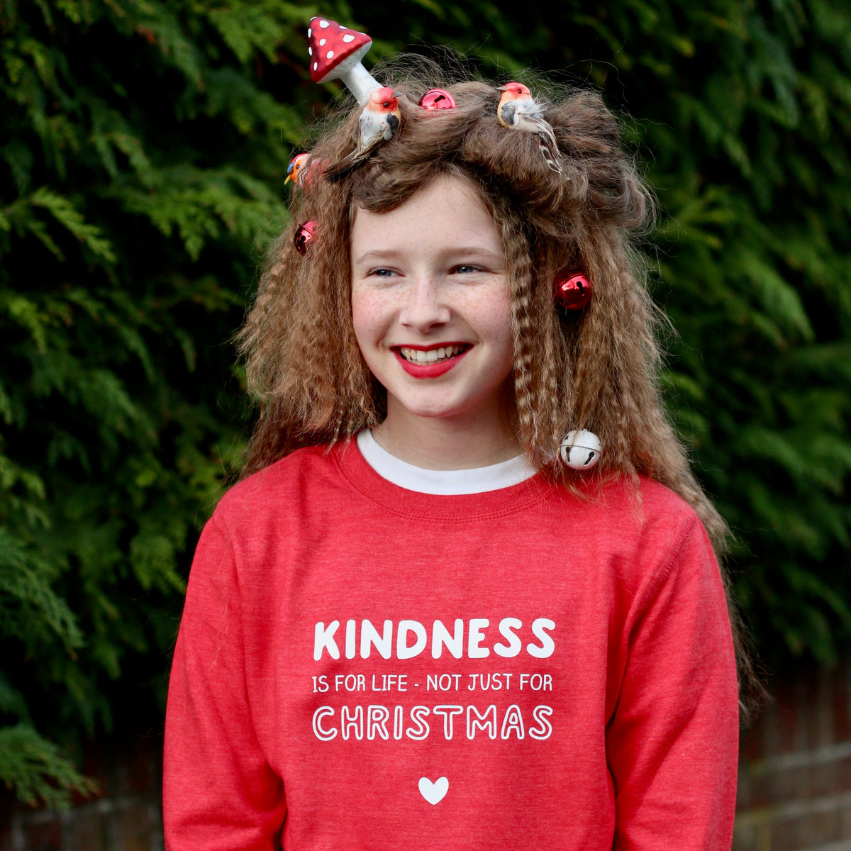 Kindness Christmas Sweatshirt Three Colours
