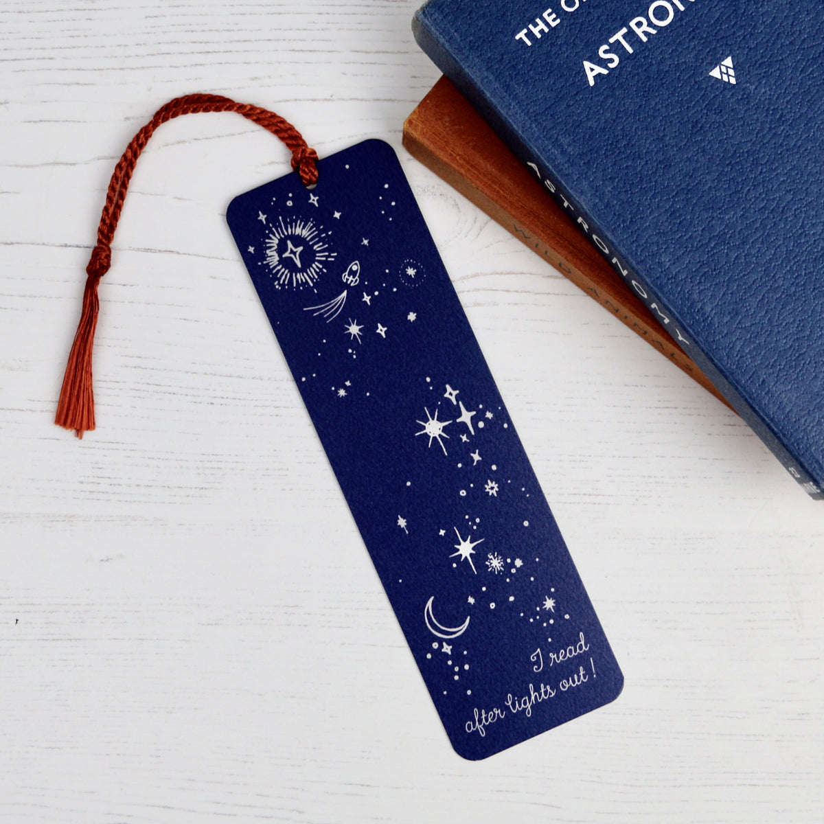 Star Design Aluminium Bookmark - a Unique gift and original gift from Auntie Mims ideal for Christmas