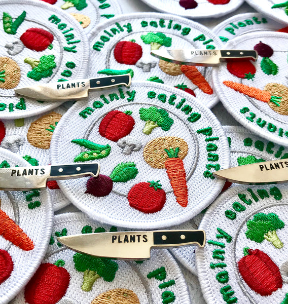 Plants Knife Pin - Auntie Mims