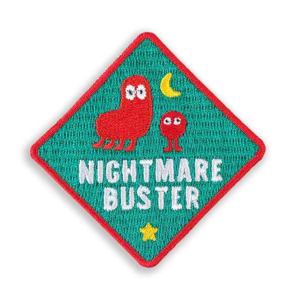 Merit Patch Awards For Grown Ups And Little People - NIGHTMARE BUSTER - Auntie Mims