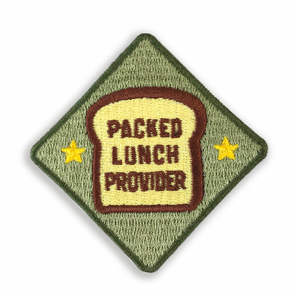Merit Patch Awards For Grown Ups And Little People - PACKED LUNCH PROVIDER - Auntie Mims