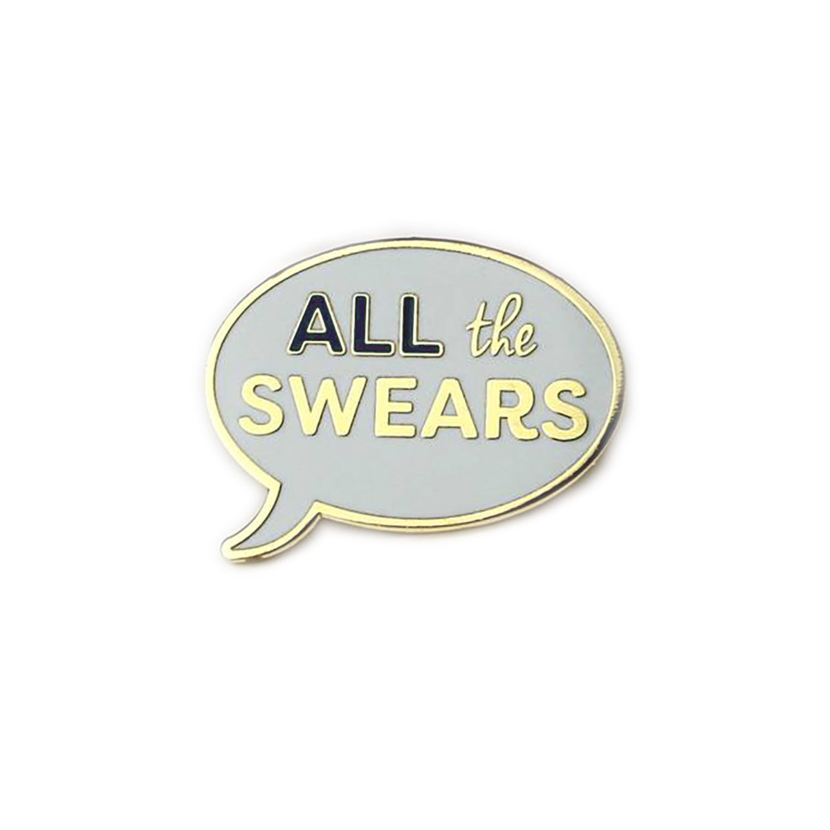 All the Swears Enamel Pin - Auntie Mims