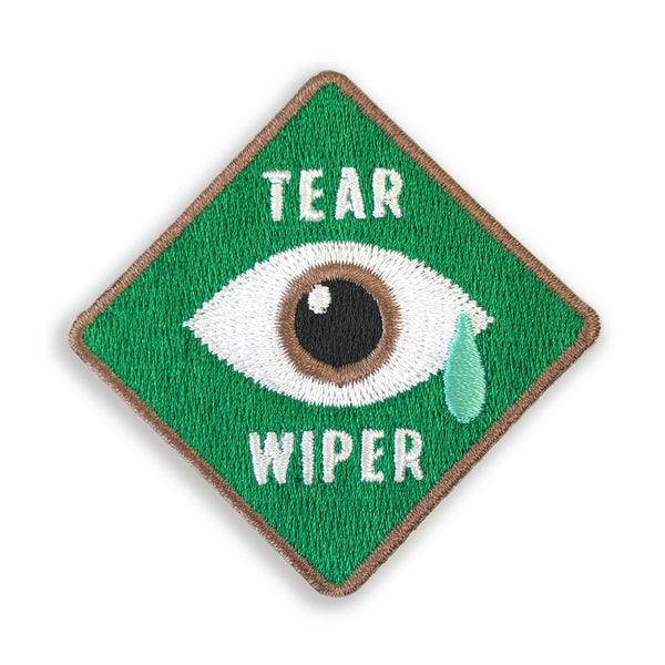 Merit Patch Awards For Grown Ups And Little People - TEAR WIPER - Auntie Mims
