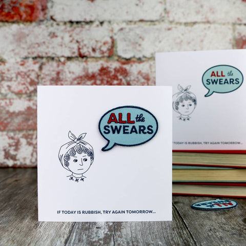 All The Swears Mother's Day Card - Auntie Mims