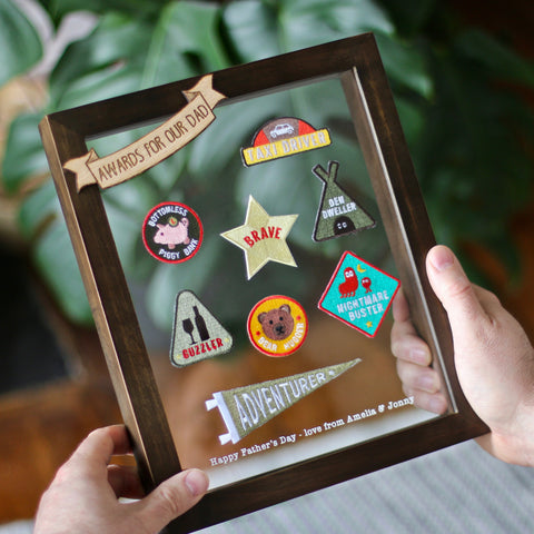 Family Merit Patch Frame