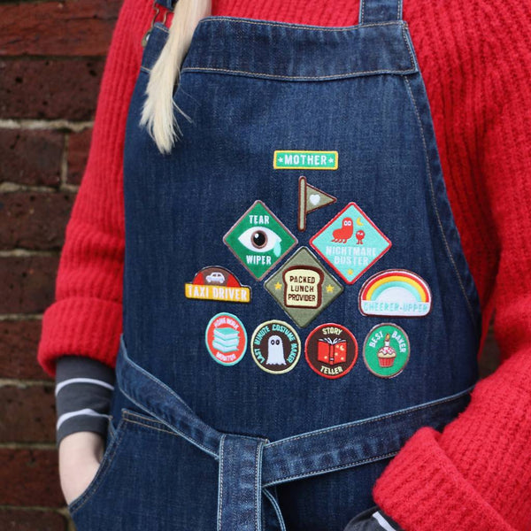 Merit Patch Awards For Grown Ups And Little People - a lovely Unique Gift from Auntie Mims