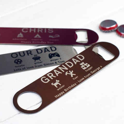 Personalised Bottle Opener - Auntie Mims