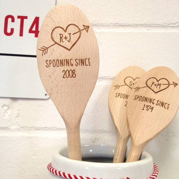 Personalised Love Spoon - a Unique gift and original gift from Auntie Mims ideal for Christmas