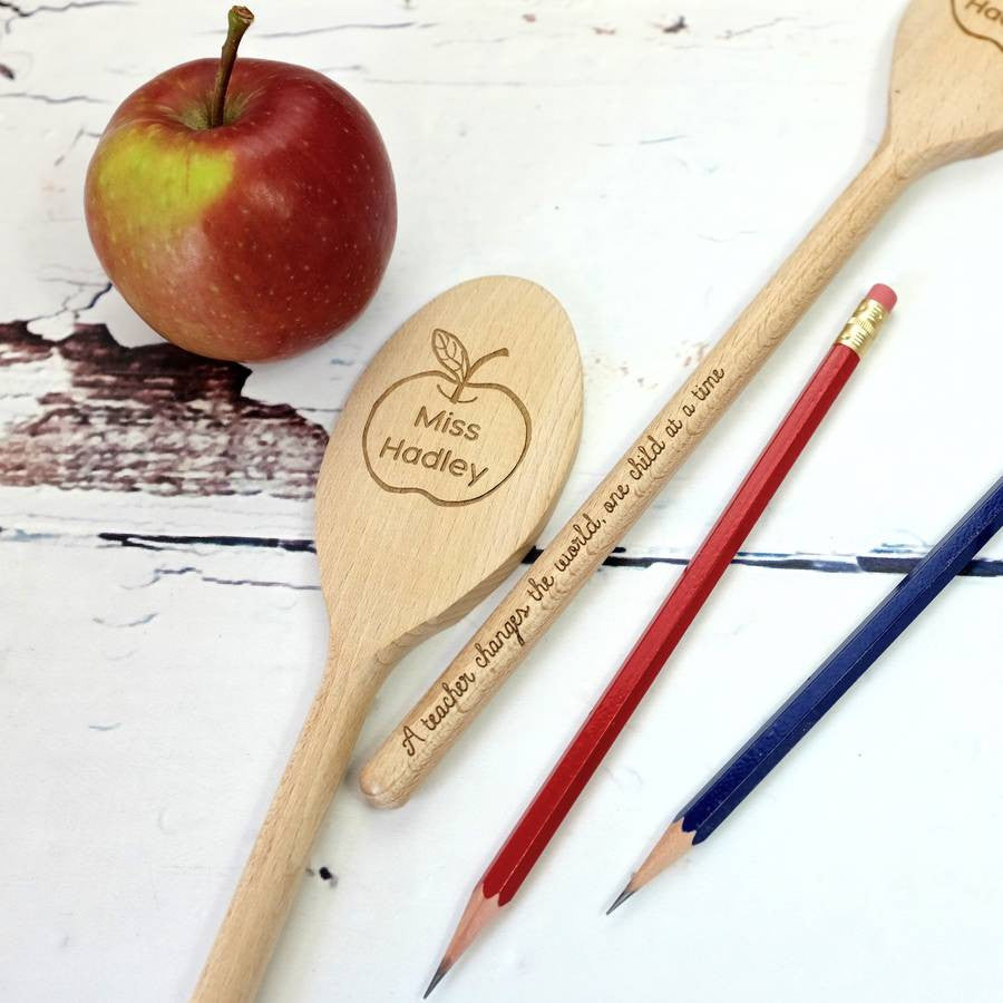 Thank You Teacher Spoon - a lovely Unique Gift from Auntie Mims