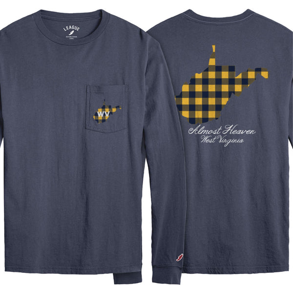 WV Plaid Almost Heaven Long Sleeve