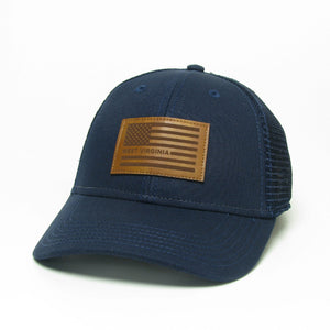 WV USA Flag Snapback