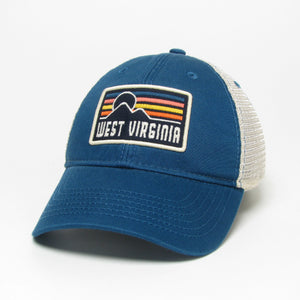 Relaxed Twill WV Sunset Trucker Hat