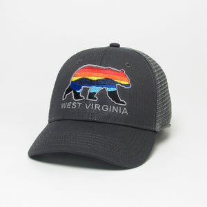 WV Bear Horizon Youth Snapback