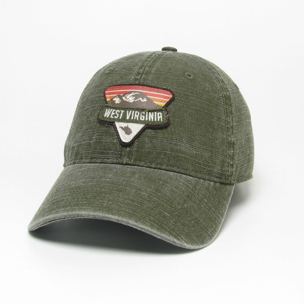 The Point WV Canvas Trucker Hat