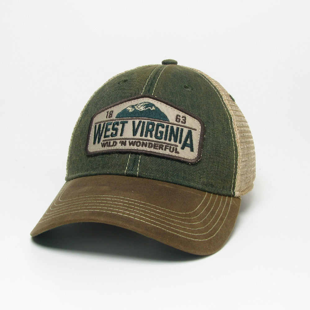 Waxed Cotton WV Trucker Hat