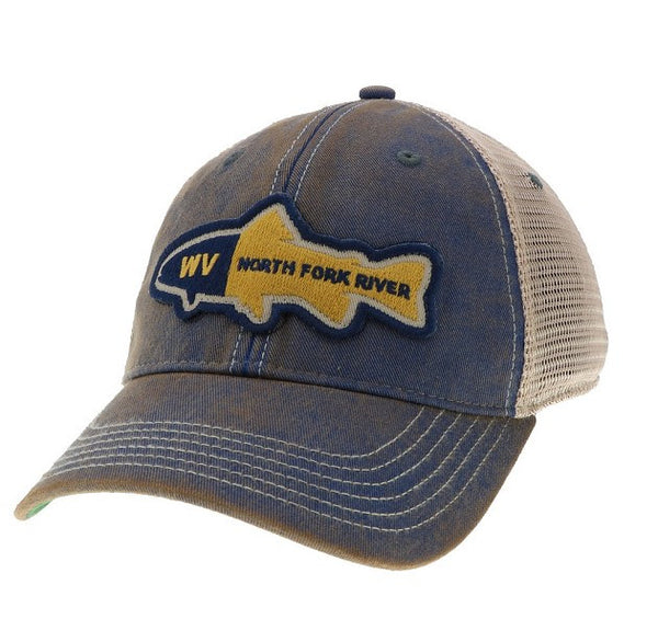 North Fork River Trout Hat