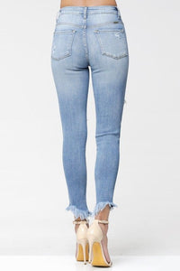 Gemma High Rise C&H Ankle Skinny
