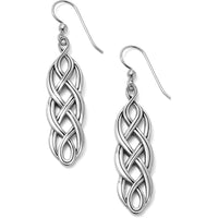 Interlok Braid French Wire Earrings