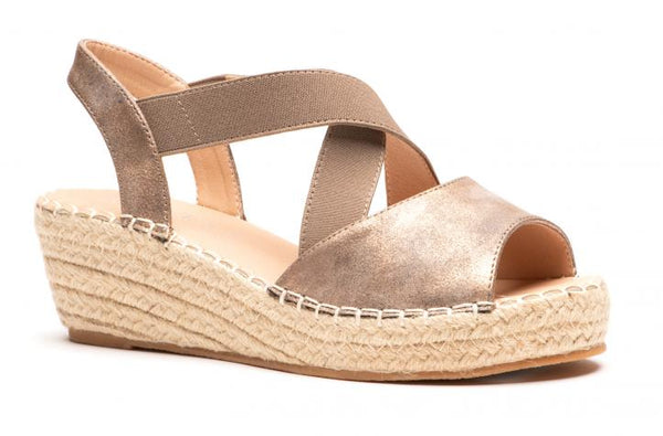 Bronze Kimmie Wedge