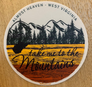 Take Me To the MTNS Sticker