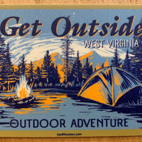 Get Outside MTN Camp Sticker