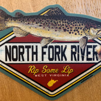 Brown Trout WV Sticker