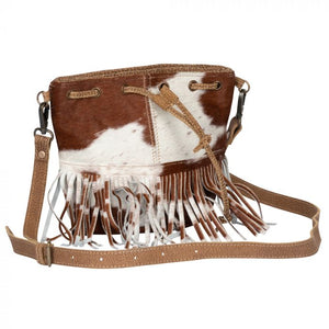 Funky Fringe Hair On Crossbody