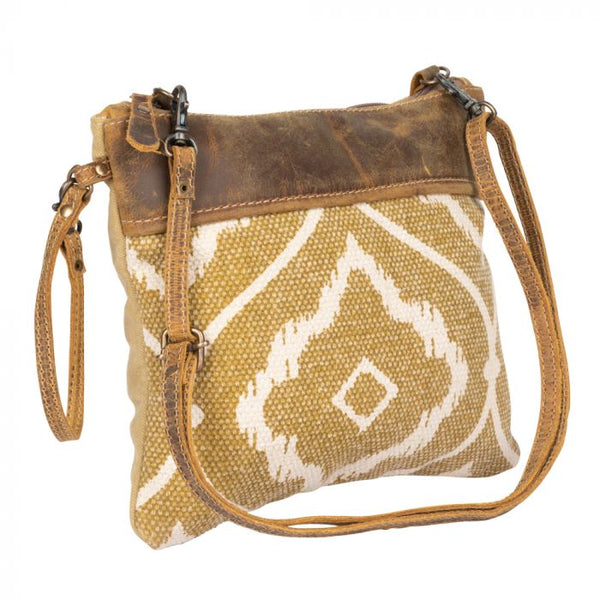 Chocolate Carmel Swirl Crossbody