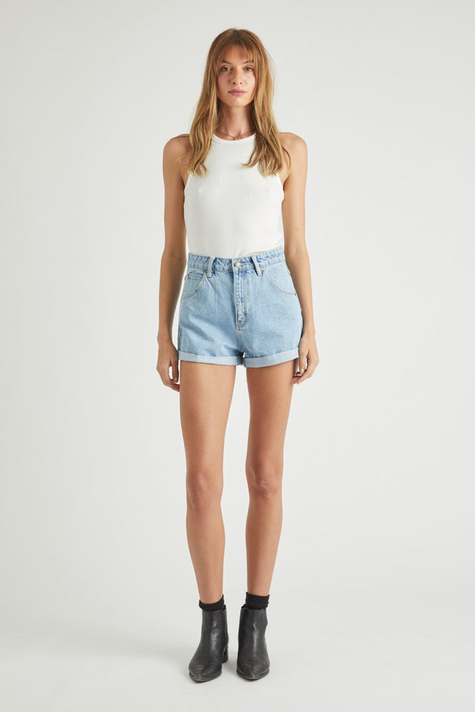 Duster Short - Sunday Blue