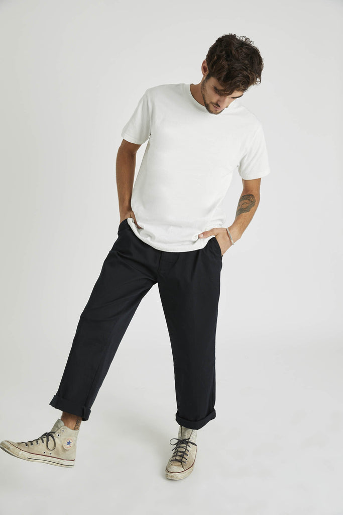 Lazy Boy Pant - V8 Black Drill