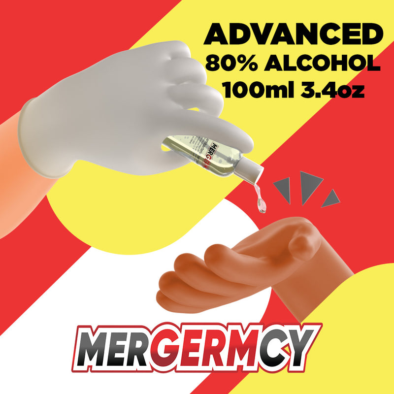 Mergermcy Hand Sanitizer Gel [5- Pack]