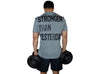 Stronger Than Yesterday - Men's Gym Tshirt