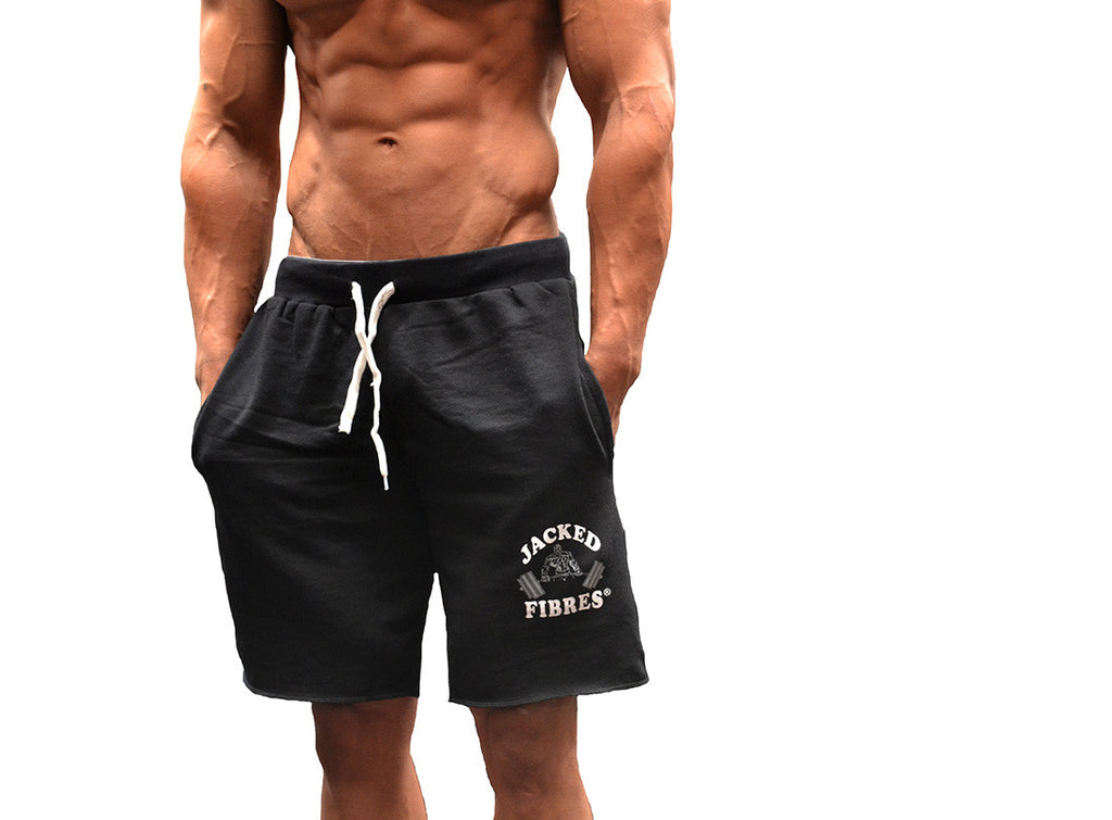 Hyper - Men's Knee Length Terry Cotton Gym Shorts