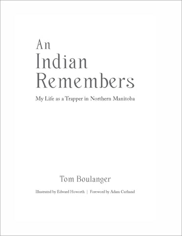 An Indian Remembers