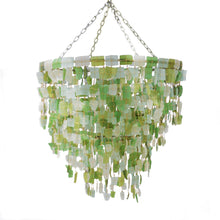 Load image into Gallery viewer, Tumbled Glass Chandelier - Medium