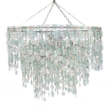 Load image into Gallery viewer, Tumbled Glass Chandelier - Large