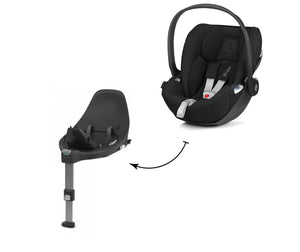 Cybex Autositz Cloud Z i-Size Deep Black Kombination mit Basisstation