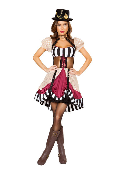 Buy 1pc Sassy Steampunk from RomaRetailShop for 69.99 with Same Day Shipping Designed by Roma Costume 10105-AS-S