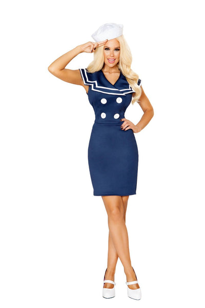 Buy 2pc Classy Sailor from RomaRetailShop for 58.99 with Same Day Shipping Designed by Roma Costume 10122-AS-S