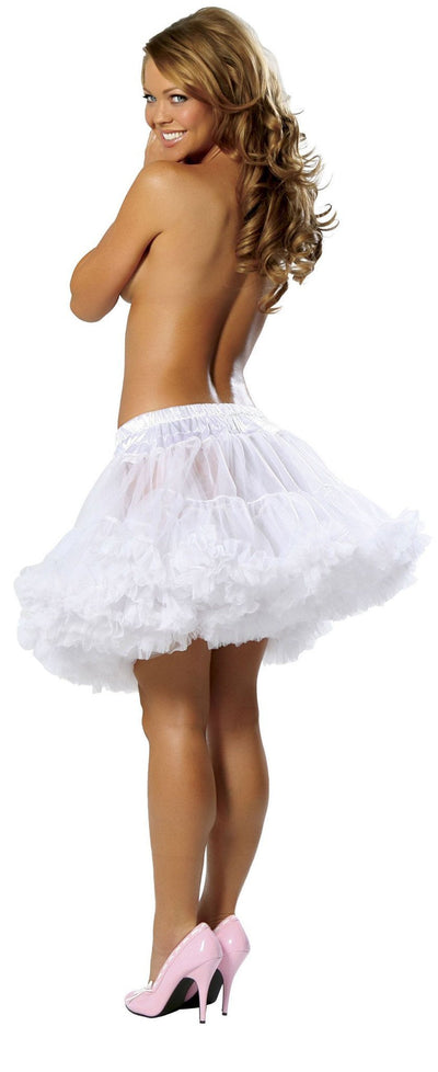 Buy Fluffy Petticoat from RomaRetailShop for 18.99 with Same Day Shipping Designed by Roma Costume 1400-Wht-O/S