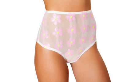 Buy High Waisted Shorts from RomaRetailShop for 25.00 with Same Day Shipping Designed by Roma Costume 3472-Wht/BP-M/L