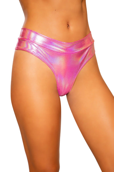 Buy Shimmer High Rise Shorts from RomaRetailShop for 17.99 with Same Day Shipping Designed by Roma Costume 3737-Pink-S/M