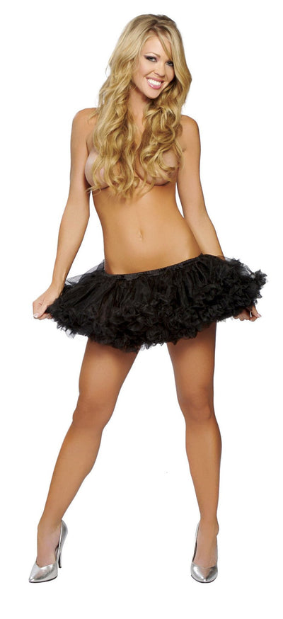 Buy Fluffy Petticoat from RomaRetailShop for 18.99 with Same Day Shipping Designed by Roma Costume 4151-Blk-O/S