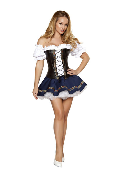 Buy 3pc Beer Maiden Baby Costume from RomaRetailShop for 72.99 with Same Day Shipping Designed by Roma Costume 4362-AS-S