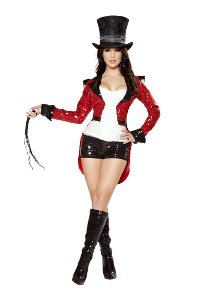 Buy 5pc Radiant Ringmaster Costume from RomaRetailShop for 99.99 with Same Day Shipping Designed by Roma Costume 4419-AS-S
