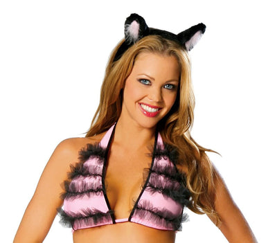 Buy Cat Ears from RomaRetailShop for 0.99 with Same Day Shipping Designed by Roma Costume 4461-AS-O/S