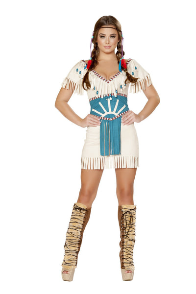Buy 2pc Tribal Babe Costume from RomaRetailShop for 38.99 with Same Day Shipping Designed by Roma Costume 4708-AS-S