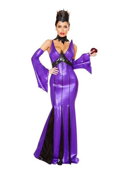 Buy 5pc Wicked Queen from RomaRetailShop for 98.99 with Same Day Shipping Designed by Roma Costume 4786-AS-S