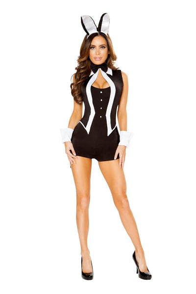Buy 4pc Tuxedo Bunny from RomaRetailShop for 69.99 with Same Day Shipping Designed by Roma Costume 4827-AS-S/M