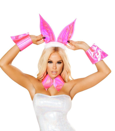Buy 3pc Bunny Accessories from RomaRetailShop for 19.99 with Same Day Shipping Designed by Roma Costume 4829-AS-O/S